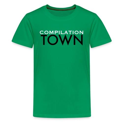 Compilation Town Logo Shirt - Kids' Premium T-Shirt