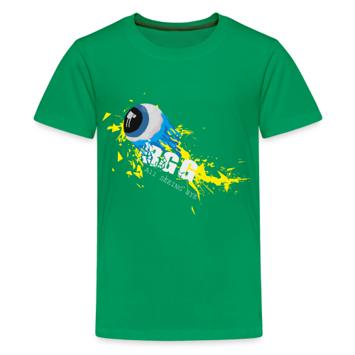 All Seeing Eye (Yellow) - Kids' Premium T-Shirt