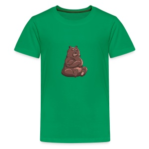 Bear in Contempt T-Shirt - Kids' Premium T-Shirt
