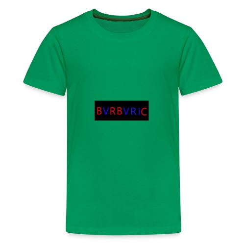 Red and blue Montage - Kids' Premium T-Shirt