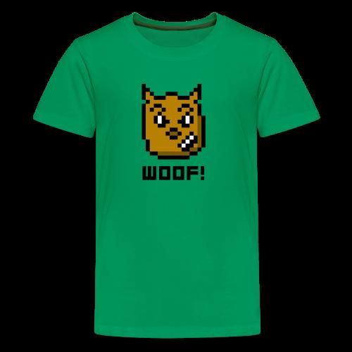 WOOF! - Kids' Premium T-Shirt