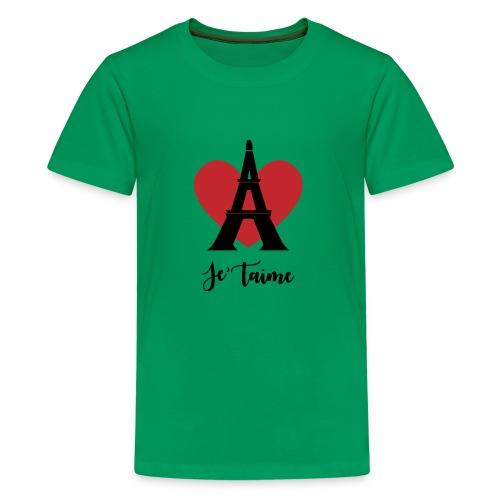Je'taime Paris - Kids' Premium T-Shirt