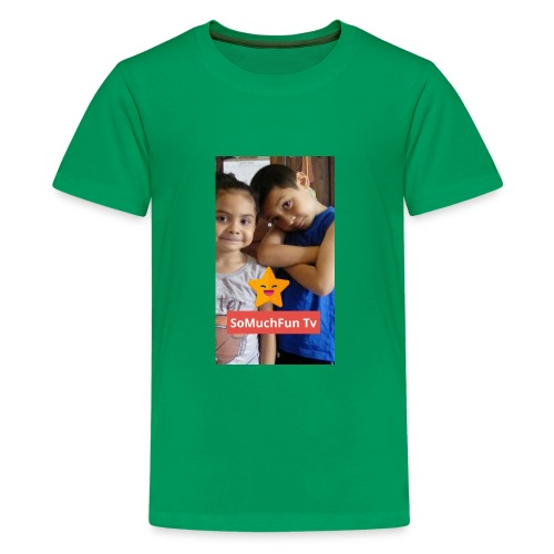SoMuchFun tv be a star - Kids' Premium T-Shirt