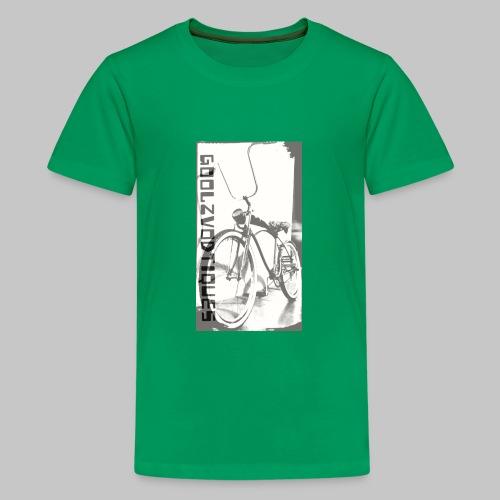 oskull pedalrat designed by goolzvodtiques - Kids' Premium T-Shirt