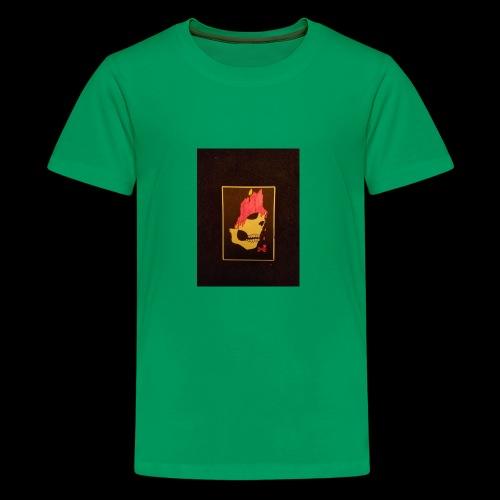 Dripping Skull - Kids' Premium T-Shirt
