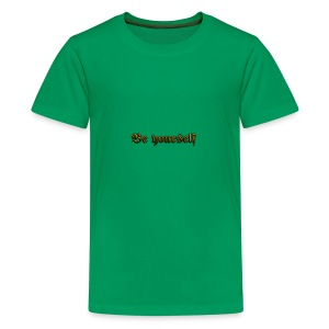 Cool Text Be yourself 261399349692711 - Kids' Premium T-Shirt