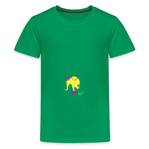 Playful Elephant - Kids' Premium T-Shirt