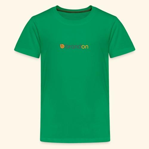 Carhart brandon logo - Kids' Premium T-Shirt