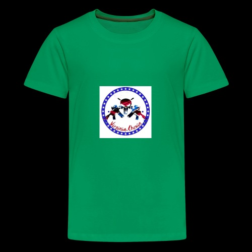 Virginia chewin' logo - Kids' Premium T-Shirt
