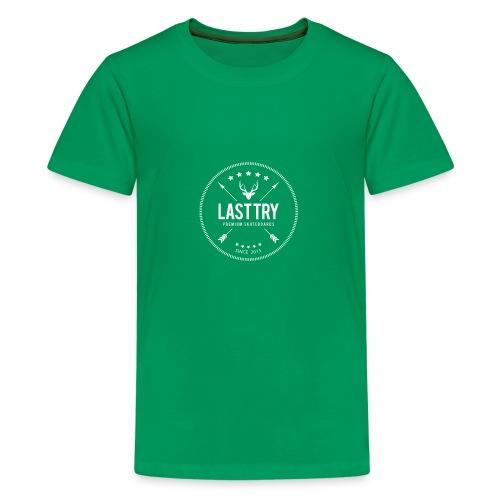 Deer Head Logo - Kids' Premium T-Shirt