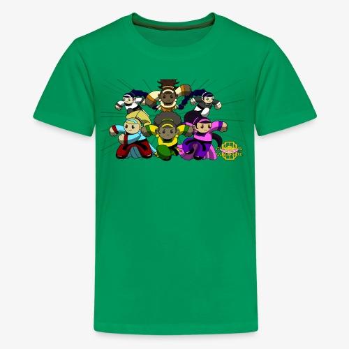 The Guardians of the Cloudgate w/ Logo - Kids' Premium T-Shirt