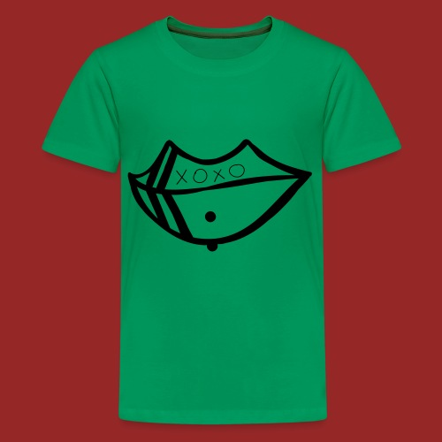 pierced lip - Kids' Premium T-Shirt
