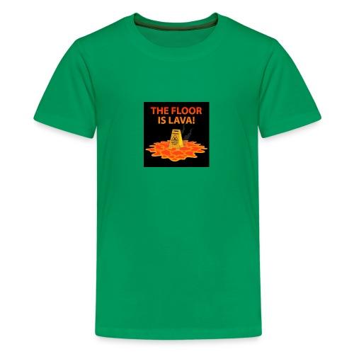The Floor Is Lava - Kids' Premium T-Shirt