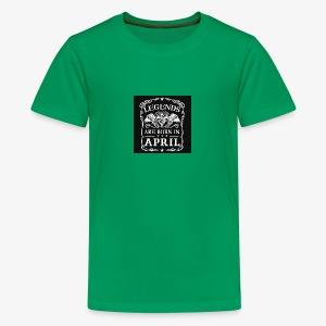 April - Kids' Premium T-Shirt
