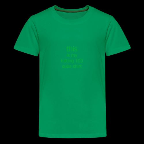 this is my game shirt - Kids' Premium T-Shirt