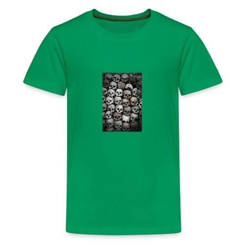 Skulls design - Kids' Premium T-Shirt