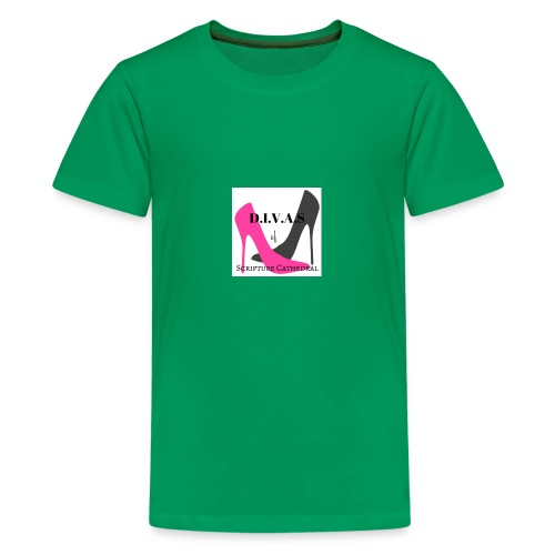Divinely Inspired Victorious and Serving - Kids' Premium T-Shirt