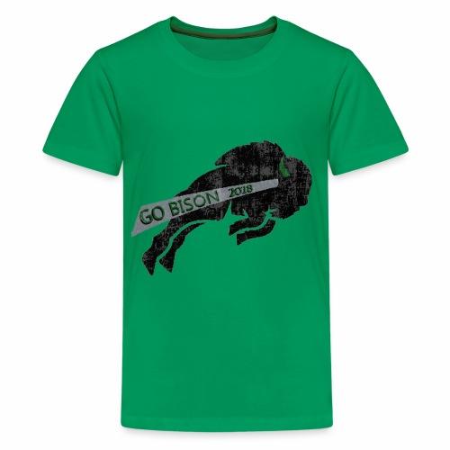 Go Bison logo - Kids' Premium T-Shirt