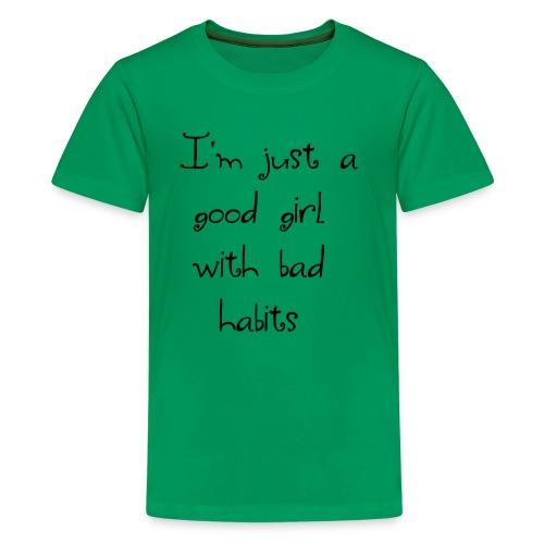 Just a good girl - Kids' Premium T-Shirt
