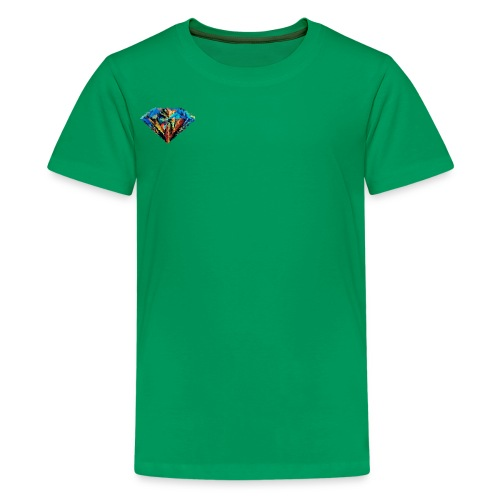 Messy Diamond - Kids' Premium T-Shirt