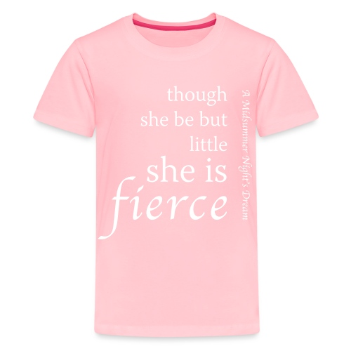 She Is Fierce Midsummer - Kids' Premium T-Shirt