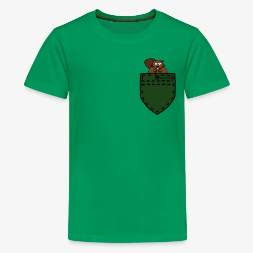 hemd squirell green - Kids' Premium T-Shirt