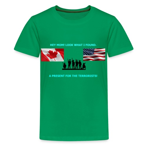Hey Mom LOOK WHAT I FOUND - Kids' Premium T-Shirt