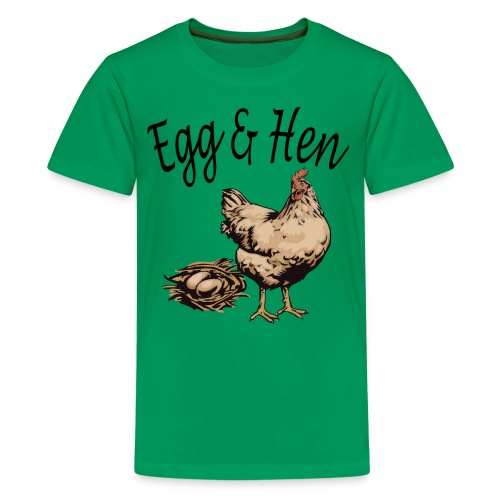 Funny Hen and Egg Shirts Limited - Kids' Premium T-Shirt