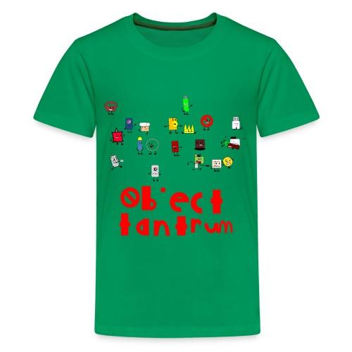 object tantrum cast - Kids' Premium T-Shirt