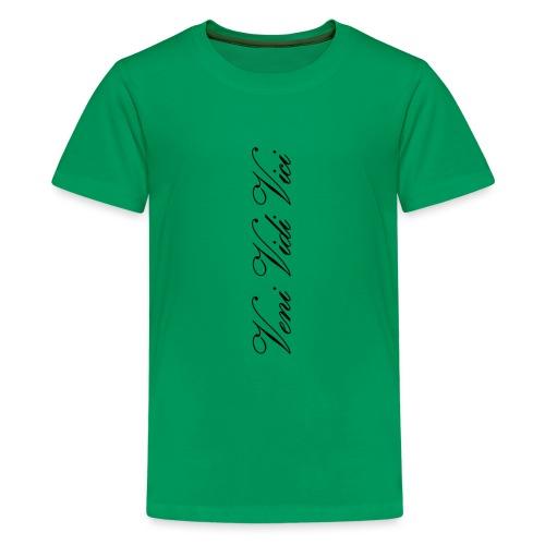 veni vidi vici calli leggins - Kids' Premium T-Shirt