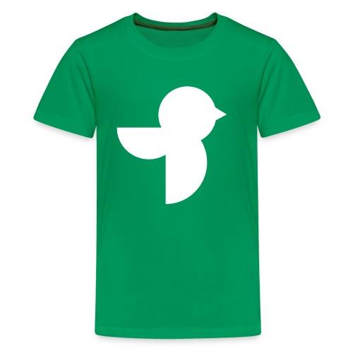 The White Sailea Logo - Kids' Premium T-Shirt