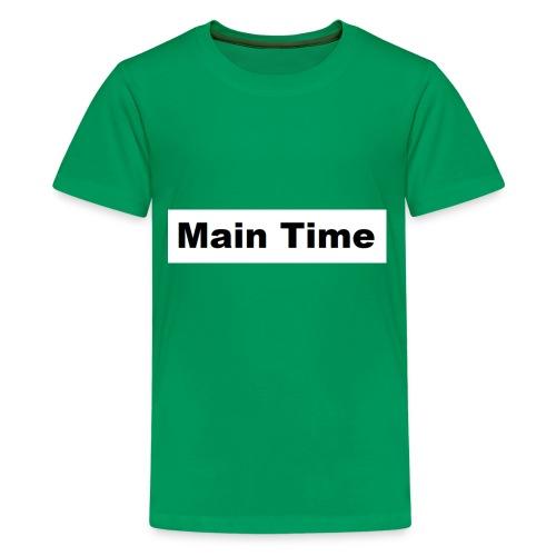 Main Time - Kids' Premium T-Shirt