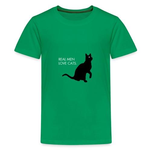 Real Men... - Kids' Premium T-Shirt