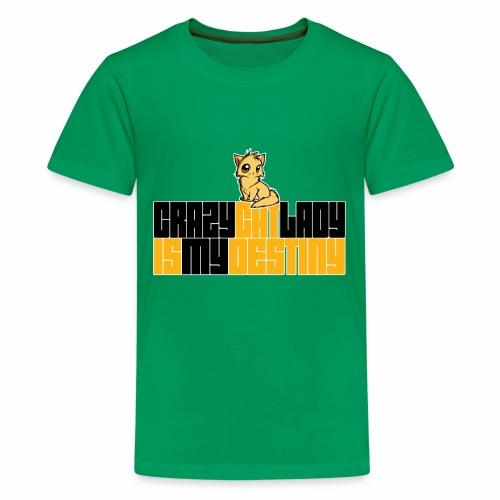 Crazy Cat Lady - Kids' Premium T-Shirt