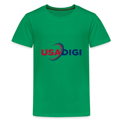 USA DIGI for light shirts - Kids' Premium T-Shirt