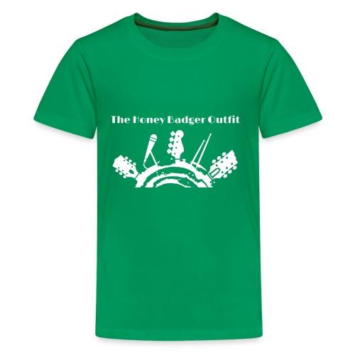 HBOutfit White Logo - Kids' Premium T-Shirt