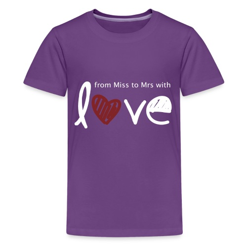 From Miss To Mrs - Kids' Premium T-Shirt