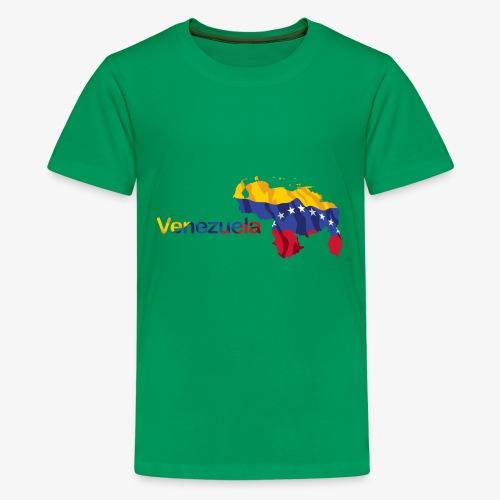 Maps Venezuela - Kids' Premium T-Shirt