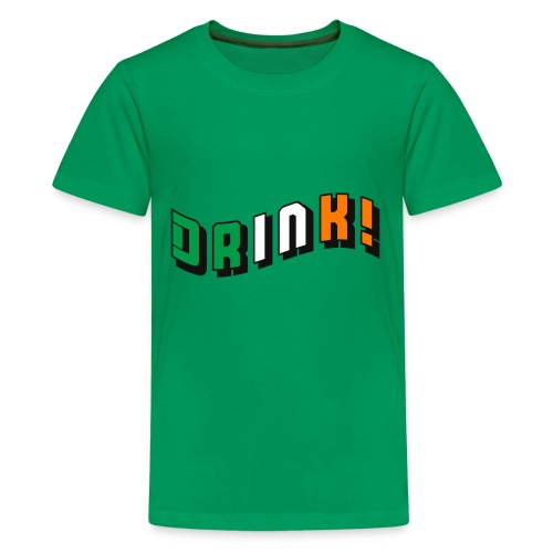 drink st pattys day - Kids' Premium T-Shirt