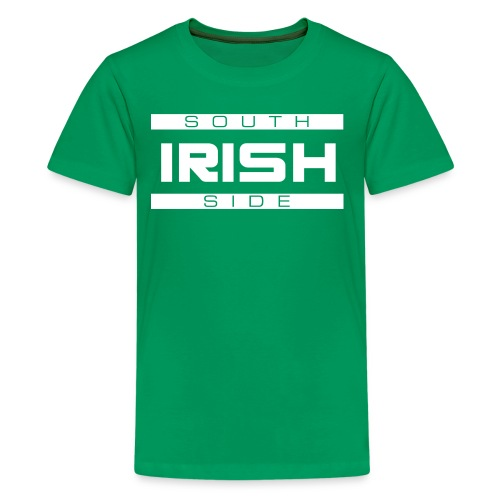 Southside Irish White - Two Bar - Kids' Premium T-Shirt