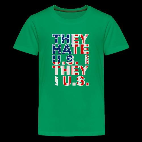 They Ain't Us - Kids' Premium T-Shirt