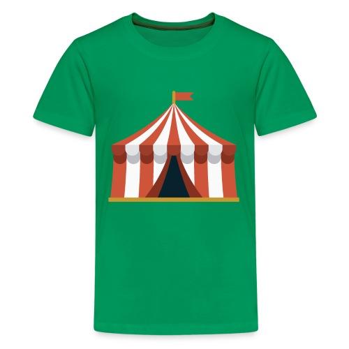 Striped Circus Tent - Kids' Premium T-Shirt