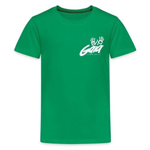 gaialogo white png - Kids' Premium T-Shirt