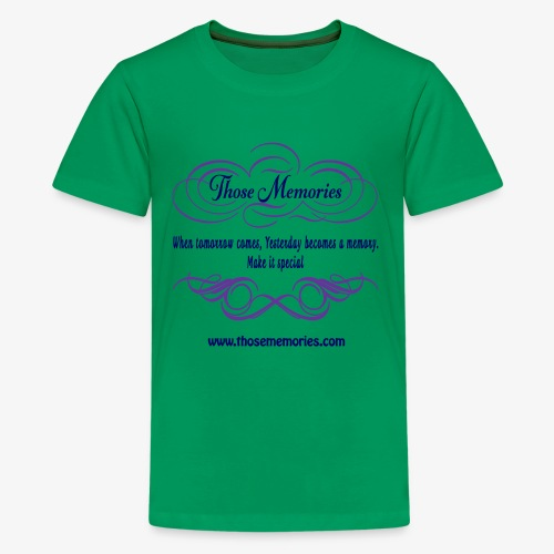 Those Memories Logo - Kids' Premium T-Shirt