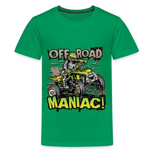 ATV Quad Skull Rider - Kids' Premium T-Shirt