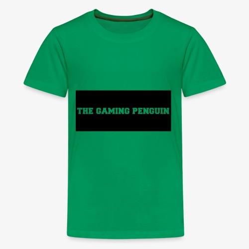 TheGamingPenguin Rectangle logo - Kids' Premium T-Shirt