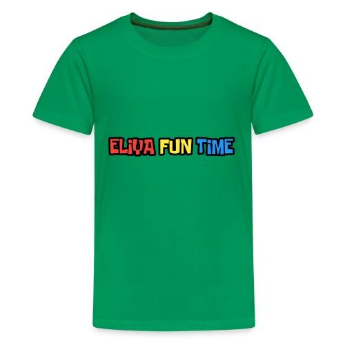 Eliya Fun Time Label - Kids' Premium T-Shirt