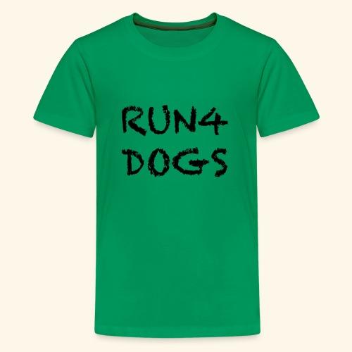 RUN4DOGS NAME - Kids' Premium T-Shirt