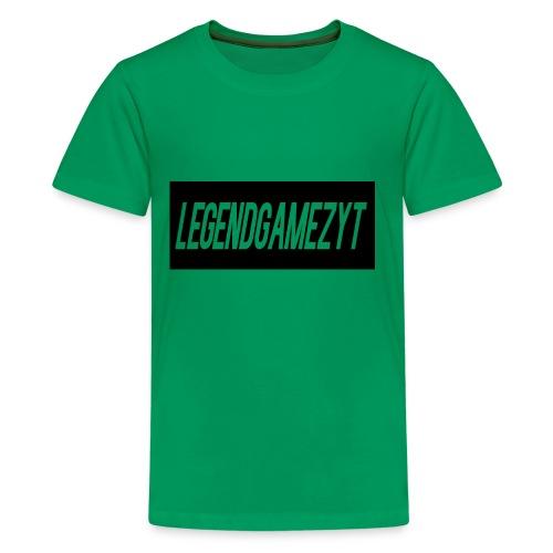 LegendGamezYT Text Logo - Kids' Premium T-Shirt