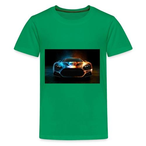 Download Cool Wallpaper Cars Background free stock - Kids' Premium T-Shirt